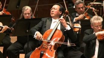 Yo-Yo Ma with the Detroit Symphony Orchestra
