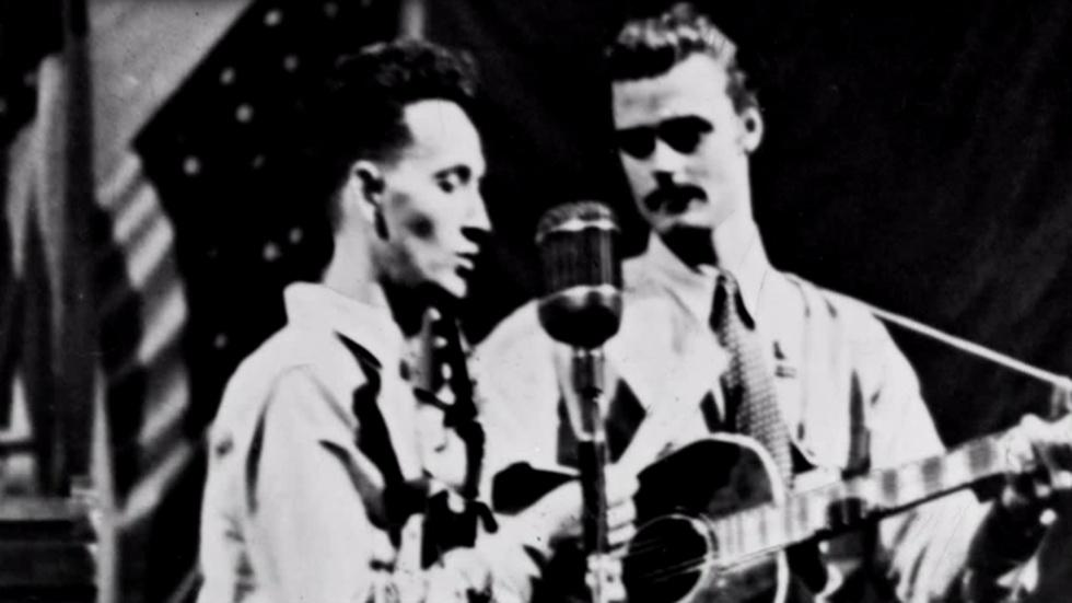 Woody Guthrie image