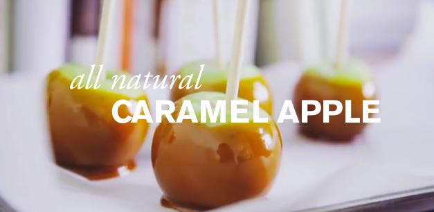 All Natural Caramel Apples image