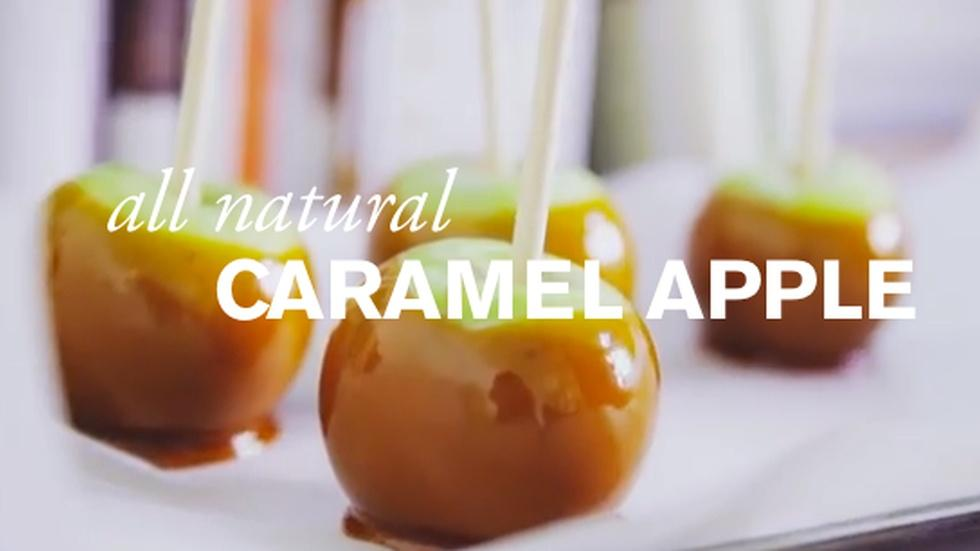 All Natural Caramel Apples image