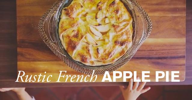 Rustic Apple Pie image