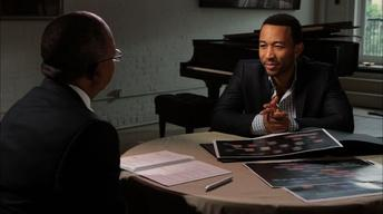 John Legend and Wanda Sykes