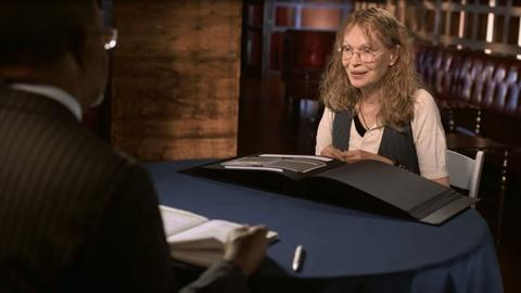 Finding Your Roots -- S3 Ep10: Mia Farrow in Maps of Stars
