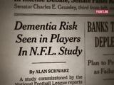 FRONTLINE | In Damage Control, NFL Shied From Its Own Brain Research