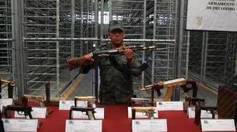 Mexico's Seized Weapons: A Tour