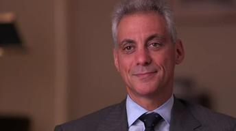 The FRONTLINE Interview: Rahm Emmanuel