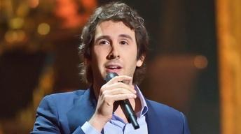 "S37 Ep14: Josh Groban Sings ""Not While I'm Around"" from ""Swe"