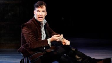 Benedict Cumberbatch as Rosencrantz in Tom Stoppard Play