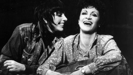 Chita Rivera and Liza Minnelli in The Rink on Broadway