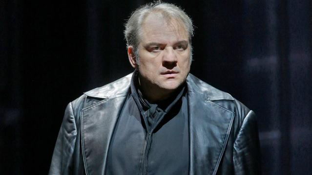 Željko Lučić as Iago in GP at the Met: Otello