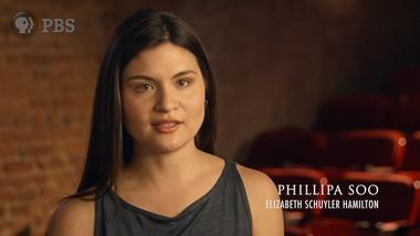 Phillipa Soo on Eliza Schuyler