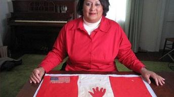 Red Hand Flag