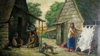 Seth Eastman Painting
