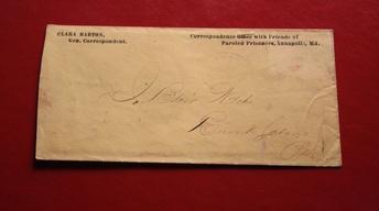 Clara Barton Letter
