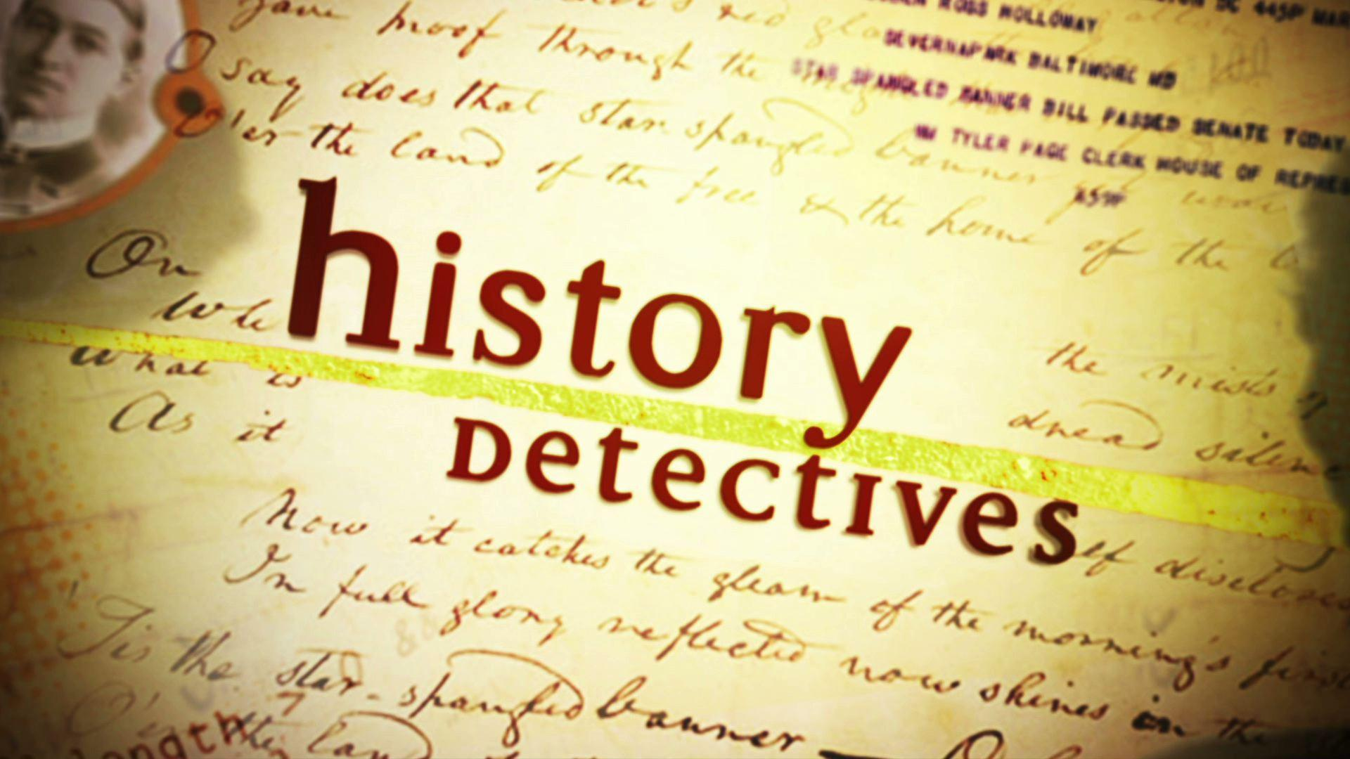Watch Full Episodes Online of History Detectives on PBS | Season ...
