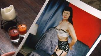 Bettie Page And The Forbidden Pinup