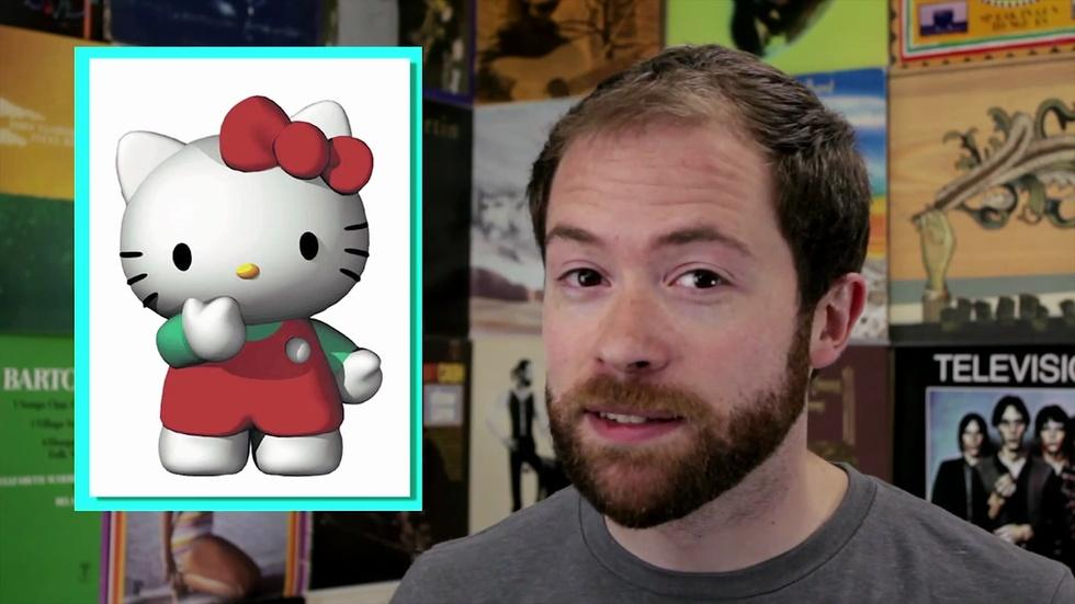 Hello Kitty, Minimalist Icon? image