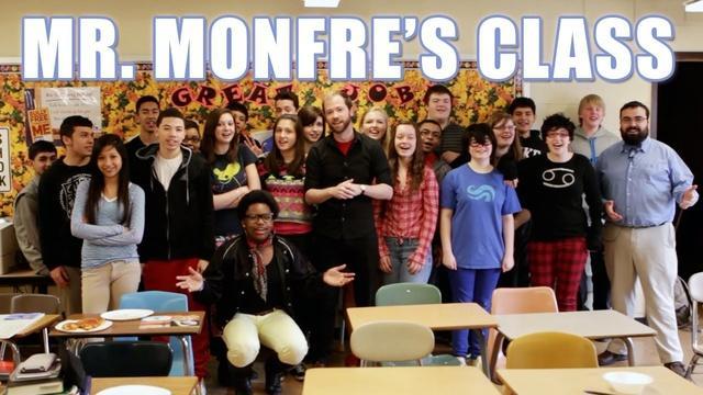 A Visit to Mr. Monfre's Class