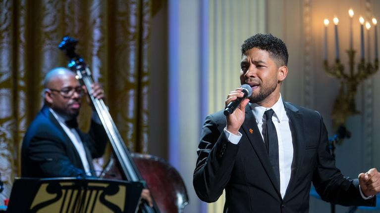 "In Performance at The White House: Jussie Smollett Sings ""I Got A Woman"""