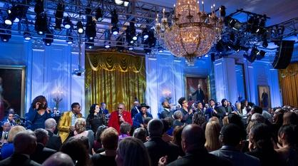 In Performance at The White House -- Smithsonian Salutes Ray Charles