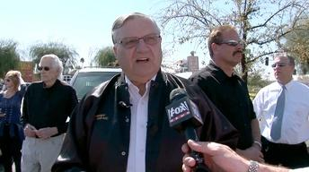 Sheriff Joe Debates Journalist During Fast Food Bust image
