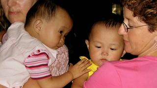 Adoptive Parents Meet in China