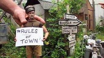 Marwencol's Golden Rule: Be Friendly!