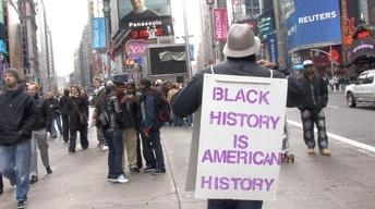 Pounding the Pavement for Black History