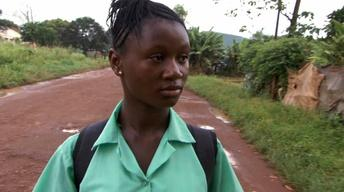 One Girl's Long Road to School and Safety in Sierra Leone