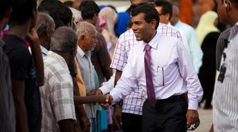 Mohamed Nasheed Confronts Climate Change Head-on in Maldives