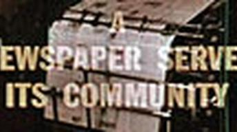 A Newspaper Serves Its Community - Archive Film