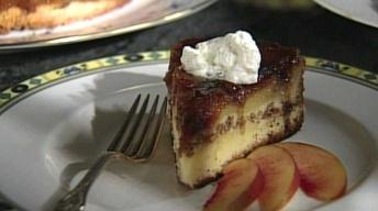 Nectarine Upside Down Chiffon Cake with Mary Bergin