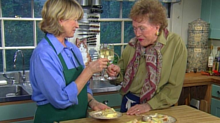 Baking With Julia: A Three-Tiered Wedding Cake with Martha Stewart, Part 2