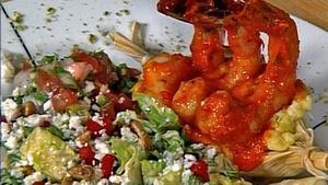 Mansion Shrimp Diablo with Caesar Salad with Dean Fearing