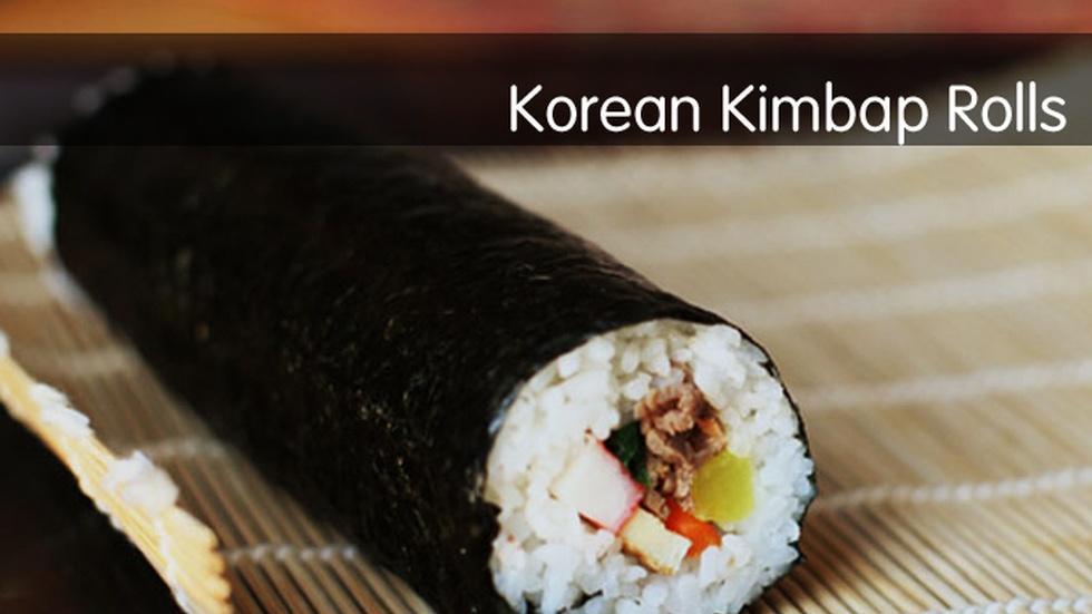 Korean Kimbap Rolls image