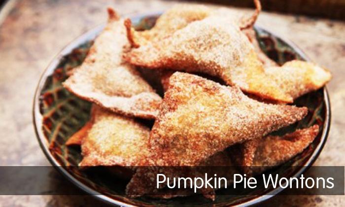 Pumpkin Pie Wontons image