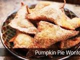 Kitchen Explorers | Pumpkin Pie Wontons
