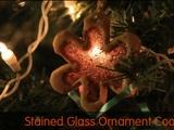 Kitchen Explorers | Stained Glass Ornament Cookies
