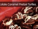 Kitchen Explorers | Chocolate Caramel Pretzel Turtles