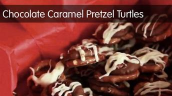 Chocolate Caramel Pretzel Turtles