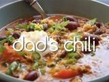 Kitchen Explorers | Dad's Chili