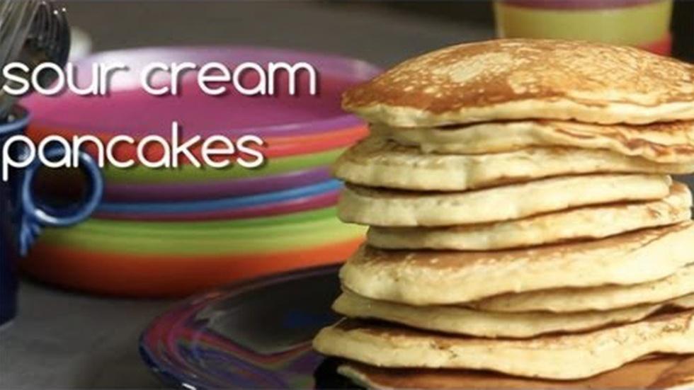 Sour Cream Pancakes image