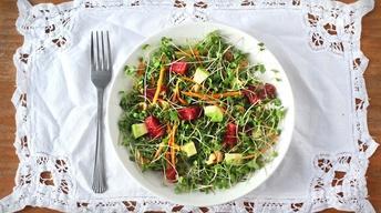 Microgreens Salad image
