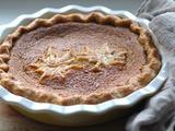 Kitchen Vignettes | Maple Syrup Pie