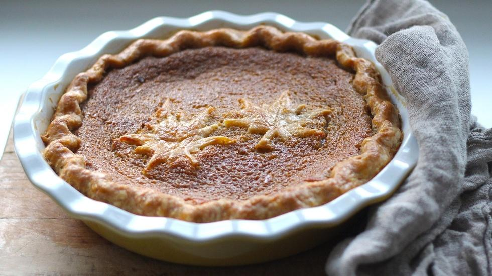 Maple Syrup Pie image