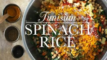 Tunisian Spinach Rice
