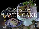 Kitchen Vignettes | Blueberry Lime Layer Cake