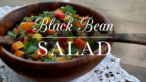 Black Bean Quinoa Rainbow Salad