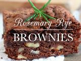 Kitchen Vignettes | Rosemary Rye Brownies