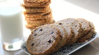 Rye Blueberry Cookies